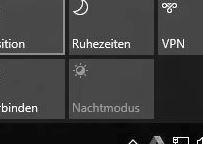 nachtmodus einschalten windows 10